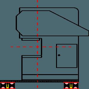 C Tipi Preslerde Titreşim Takozu Uygulaması